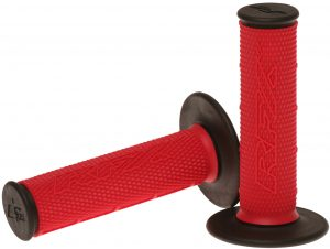 RFX Pro Series 202 Dual Compound Grips Red/Black