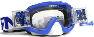 Rip N Roll Hybrid XL Fully Loaded Roll Off Goggle Nobo Blue