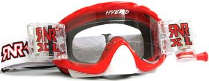 Rip N Roll Hybrid XL Fully Loaded Roll Off Goggle Brilliant Red
