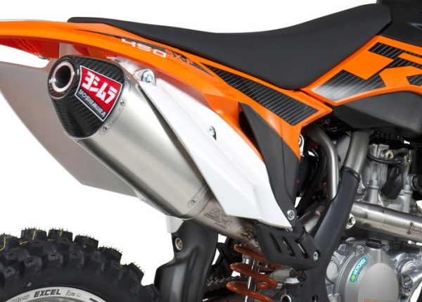 Yoshimura RS4 – KTM SX-F 450 2012-15 – Stainless Exhaust System
