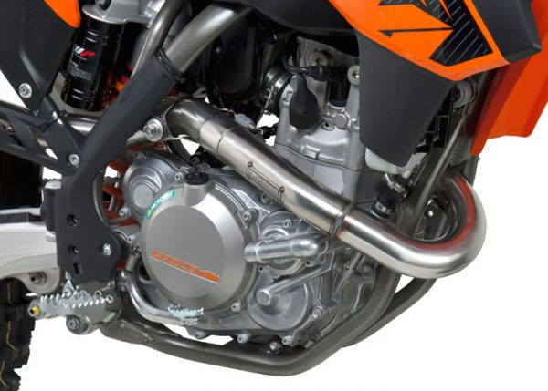 Yoshimura RS4 - KTM SX-F 450 2012-15 - Stainless Exhaust System