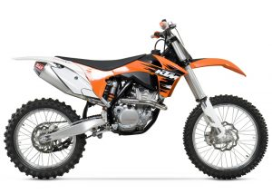 Yoshimura RS4 – KTM SX-F 350 13-15 – Stainless Exhaust System