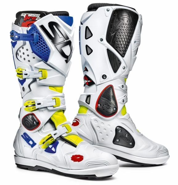 2016 Sidi Crossfire 2 SRS Boot Fluo Yellow/White/Blue