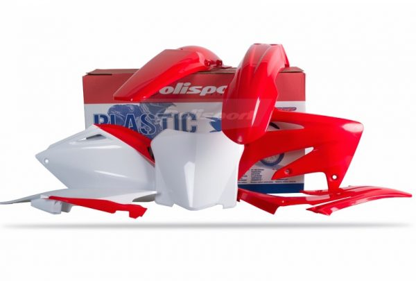 Polisport Plastic Kit HONDA CRF250R 2008 OEM Colour