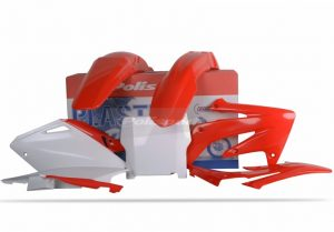 Polisport Plastic Kit HONDA CRF250R 04-05 OEM Colour