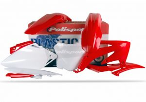 Polisport Plastic Kit HONDA CRF450R 2008 OEM Colour
