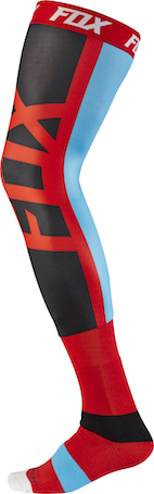 2017 Fox Proforma Seca Knee Brace Socks Red