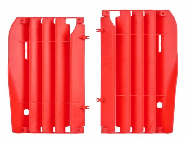 Polisport Radiator Louvers Honda CRF 250R 2010-2013 Red