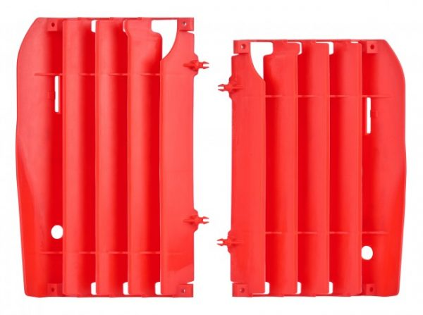 Polisport Radiator Louvers Honda CRF 450R 2009-2012 Red