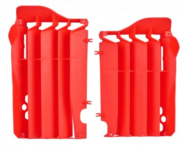 Polisport Radiator Louvers Honda CRF 450R 2013-2016 Red