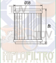 HIFLO Oil Filter YAMAHA YZF250/450 09-15