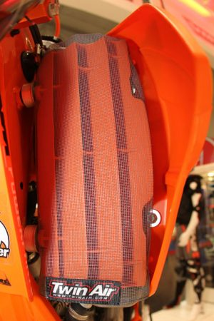 Twin Air Radiator Sleeve KTM SX/SXF 07-15, EXC/EXCF/XC/XCF 08-16