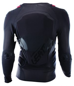 2017 Leatt 3DF Airfit Lite Body Protector Black