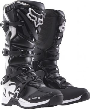 2018 Fox Comp 5 YOUTH Boot Black