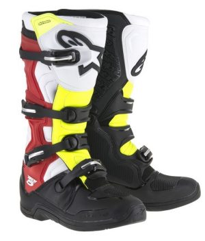 2017 Alpinestars Tech 5 Boot Black/White/Neon