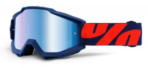 100% Accuri Goggle Raleigh – Blue Mirror Lens