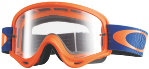 Oakley O Frame Goggle Shockwave Orange/Blue – Clear Lens