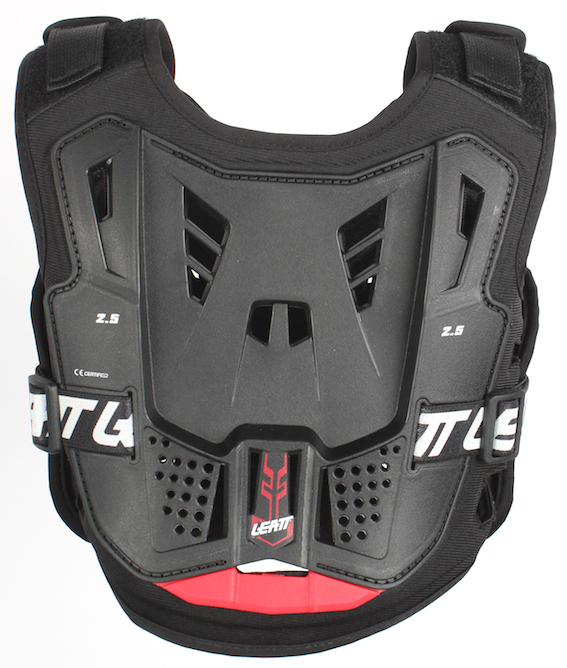 2017 leatt 2. 5 kids chest protector black
