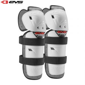 2018 EVS Option Knee Guards Youth White