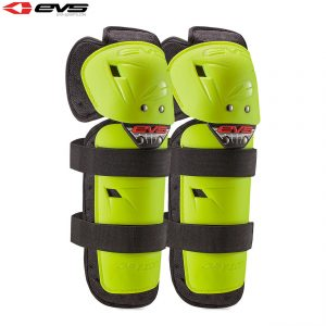 2018 EVS Option Knee Guards Youth Hi Viz