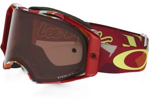 Oakley Airbrake MX Goggle TLD Splinter Orange/Red – Prizm Bronze
