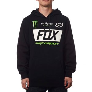 Fox PC Monster Paddock Pullover Hoody Black