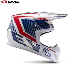 EVS T5 Vector Adult Helmet Blue/Red