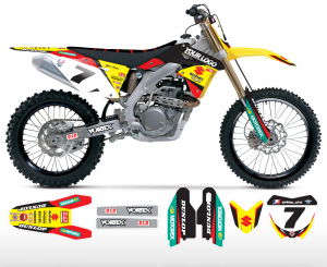 Factory Suzuki Graphics Kit Complete