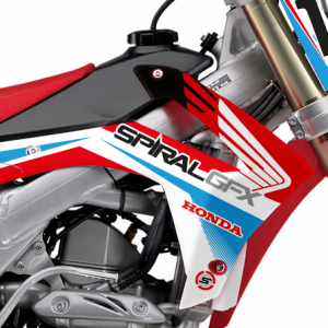 Aviator Honda Graphics Kit Complete With Custom Backgrounds