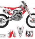 Factory Look Honda Graphics Kit Complete With Custom Backgrounds