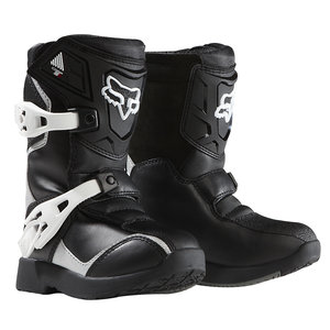 2018 Fox Comp 5K Kids PeeWee Boots Black