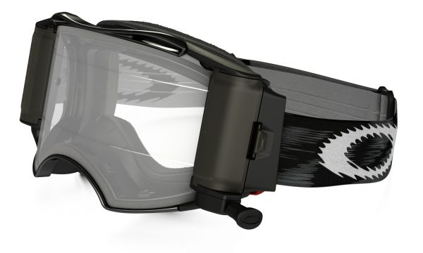 Oakley Airbrake MX Roll-Off Goggle Jet Black Speed