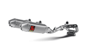 Akrapovic Exhaust Honda CRF 450 13-14 Full System Stainless Header - Titanium Silencer