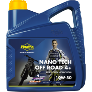 Putoline Off Road 4+ Nano Tech 10W50 4 Stroke Oil 4 Litre