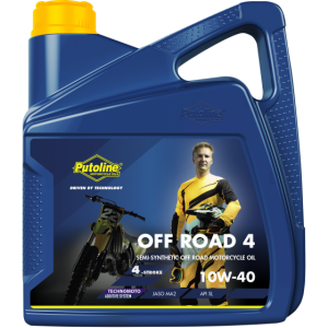 Putoline Off Road 4 10W40 4 Stroke Oil 4 Litre
