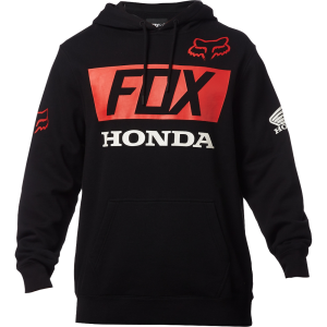 Fox Honda Pullover Hoody Blue Black