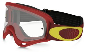 Oakley XS O Frame YOUTH Goggle Shockwave Red/Yellow – Clear Lens