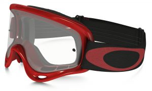 Oakley XS O Frame YOUTH Goggle Hi Voltage Red – Clear Lens