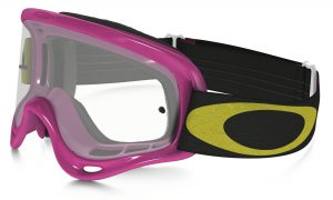 Oakley XS O Frame YOUTH Goggle Hi Voltage Pink – Clear Lens