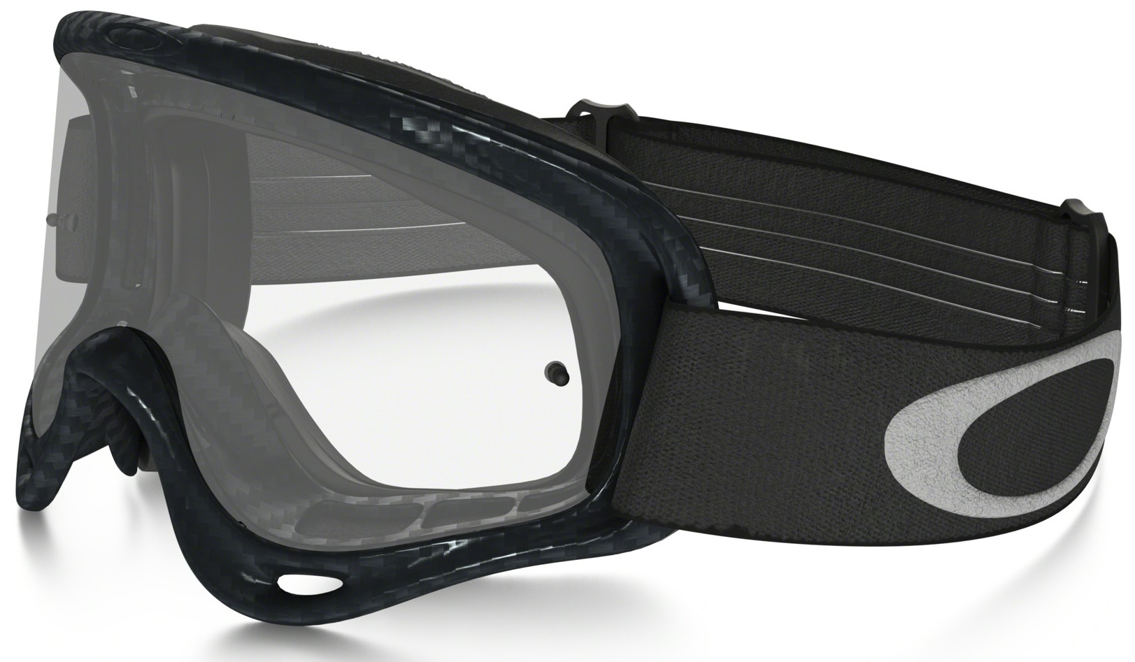 9ccece2fa0b Oakley XS O Frame Youth Goggle Carbon Fiber Print - Clear Lens