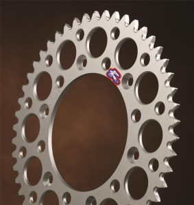 Renthal Silver Rear Sprocket Honda CRF250/450 CR125/250/500