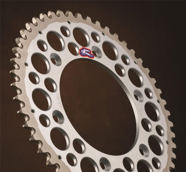 Renthal Twinring Silver Rear Sprocket Honda CRF250/450 CR125/250/500