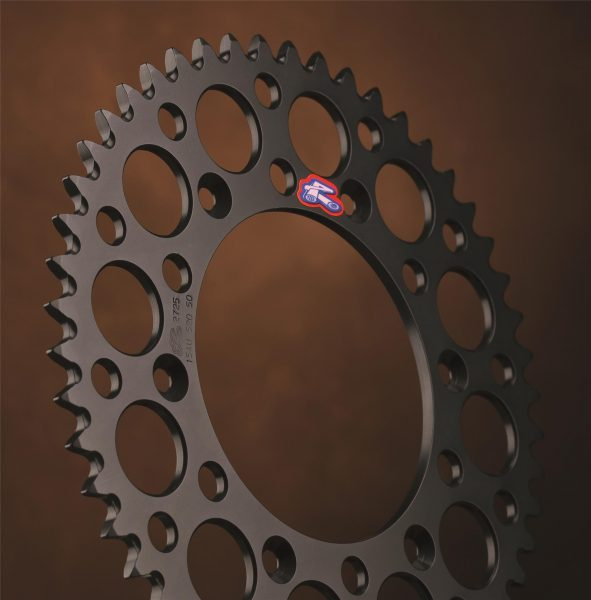 Renthal Black Rear Sprocket Kawasaki KXF250/450 KX125/250