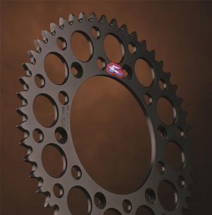 Renthal Black Rear Sprocket Suzuki RMZ250/450 RM125/250