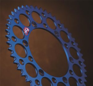 Renthal Blue Rear Sprocket Yamaha YZF250/450 YZ125/250