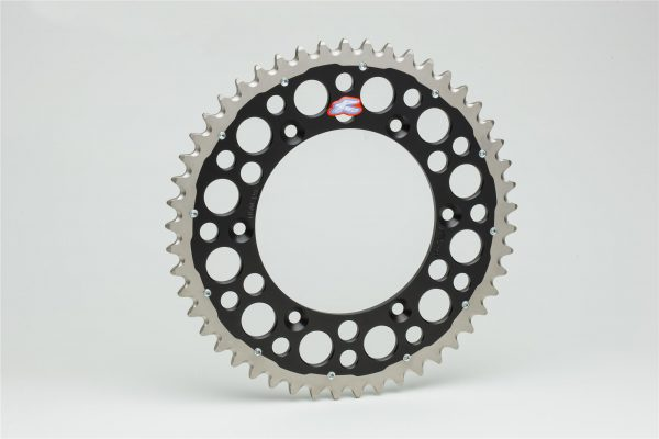 Renthal Twinring Black Rear Sprocket Yamaha YZF250/450 YZ125/250
